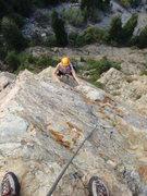 Rock Climbing Photo: To the top.