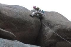 Rock Climbing Photo: Not the best shot, it's a little fuzzy.