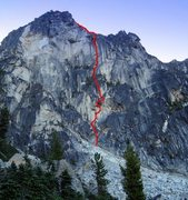 Rock Climbing Photo: The Tempest IV - 5.10 - A2