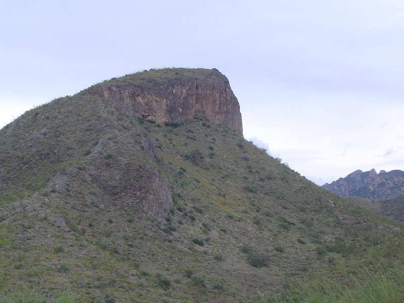 Rock Climbing Photo: limestone rock near Mount Hopkins, AZ