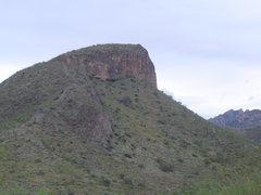 Rock Climbing Photo: limestone rock near Mount Hopkins, AZ