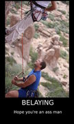 Rock Climbing Photo: the truth about belying