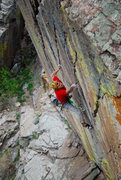 Rock Climbing Photo: ANDY MANN PHOTO button rock, colorado