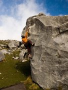Rock Climbing Photo: Climbing the classic Beautiful Edges in Spittle Hi...
