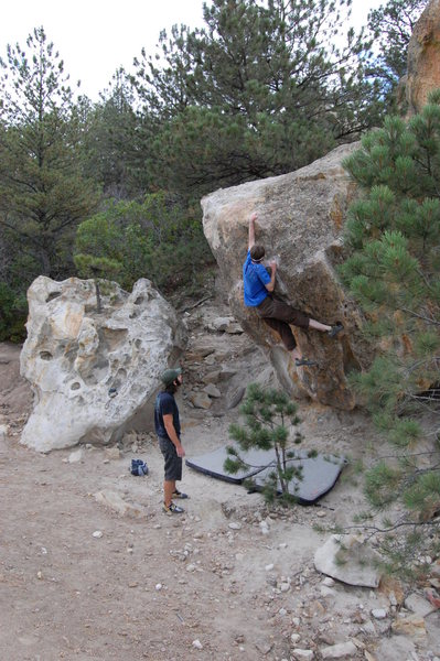 Rock Climbing Photo: On Wedgie.