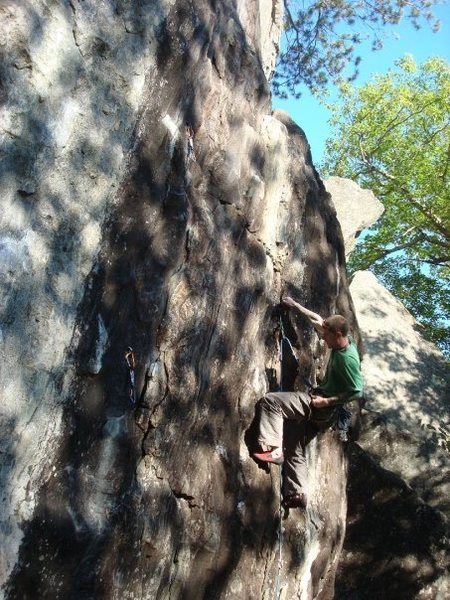 Rock Climbing Photo: see there really is a route there... photo by Kevi...