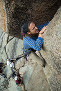 Rock Climbing Photo: Joshua tearing it up.