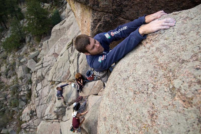 Rock Climbing Photo: Paul on the Umph.