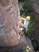 Rock Climbing Photo: Brice W. cruising How the West Was Won.