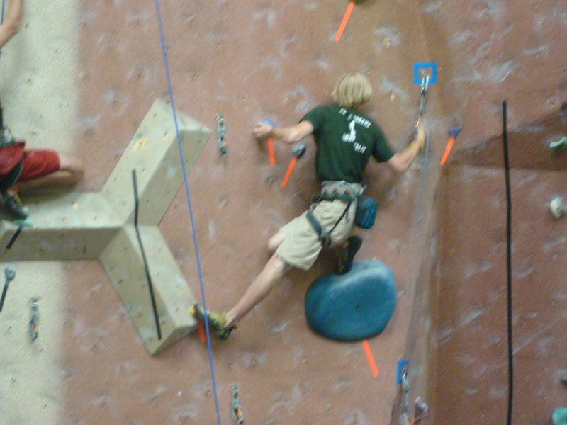 Rock Climbing Photo: 2008 Division 5 MJR Route #2