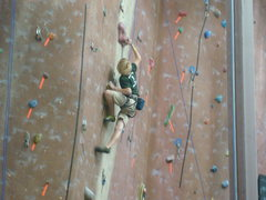 Rock Climbing Photo: Route #1 2008 Division 5 Championships