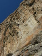 Rock Climbing Photo: almost to the crux..photo by dottie cross