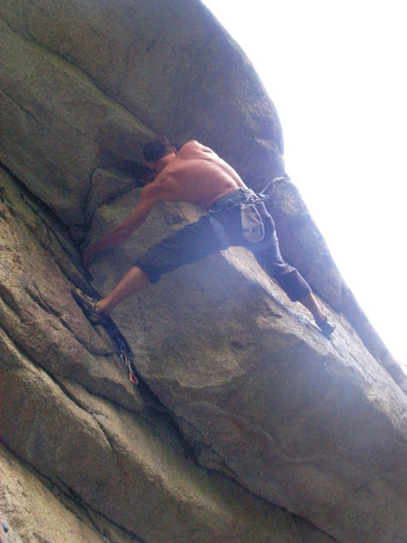 Rock Climbing Photo: block and tackle (not a very good picture but i ha...