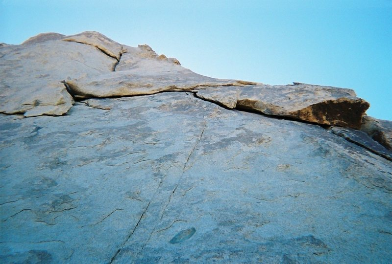 Granny Goose has a nice traverse with a perfect undercling!