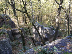 Rock Climbing Photo: What you see when you approach the top.