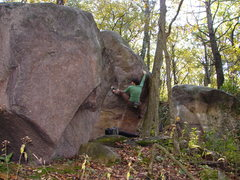 Rock Climbing Photo: Corner.
