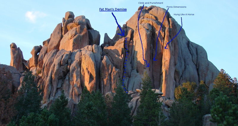 Rock Climbing Photo: Reynolds Hill routes.
