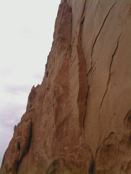 This one shows the size of the cracks.