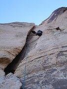 Rock Climbing Photo: L'Eggo my L'Eggo.  Lucky Nuts  10/09/08