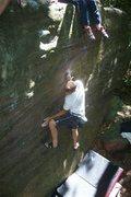 Rock Climbing Photo: nathan K sending in summer heat