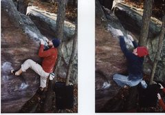 Rock Climbing Photo: Remo and Mike G. send the first two ascents of the...