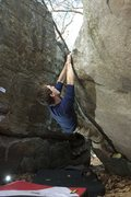Rock Climbing Photo: Working Swirls