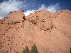Rock Climbing Photo: This is a photo copied from Tim Stich on the North...