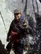 Rock Climbing Photo: ready to climb the pirate!