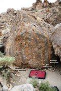 Rock Climbing Photo: Classique Boulder Topo