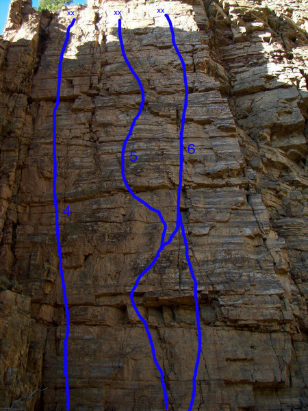 Quartzite Wasteland, Glenwood Canyon. 4 - Charcoal Burger Daydream, 5 - El Lagarto Borracho, 6 - Down South.