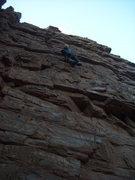 Rock Climbing Photo: FA of El Lagarto Borracho at the Quartzite Wastela...