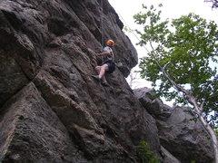 Rock Climbing Photo: At the Brain on The Brain