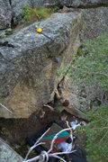 Rock Climbing Photo: Glimpse