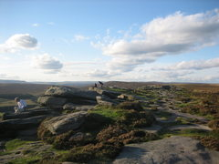 Rock Climbing Photo: Top of Stanage Plantation