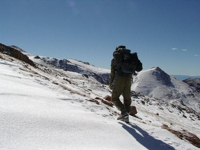 heading up pikes peak