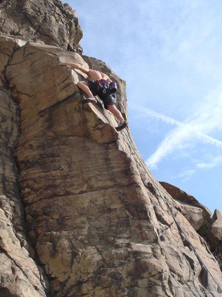Rock Climbing Photo: North table mountain