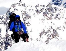 Rock Climbing Photo: West Ridge-  Mt Hunter Alaska