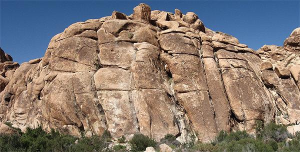Rock Climbing Photo: Corral Wall-Left. Photo by Blitzo.
