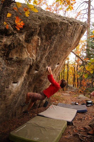 Rock Climbing Photo: More bouldering on boulders.