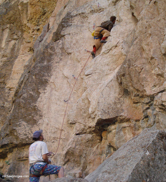 Rock Climbing Photo: Costello C4.
