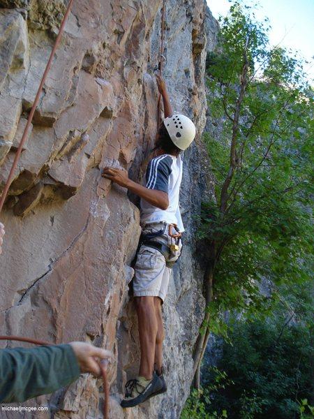 Rock Climbing Photo: Andre C1.