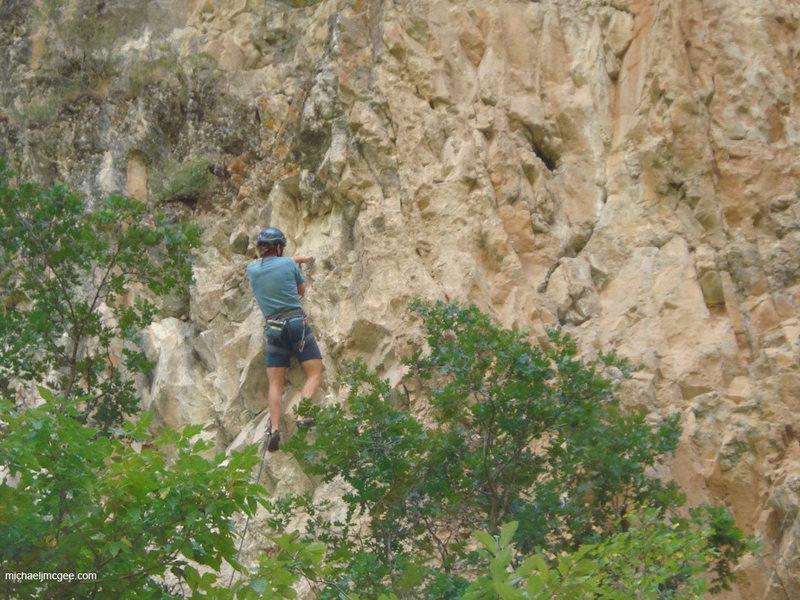 Rock Climbing Photo: Anchors.