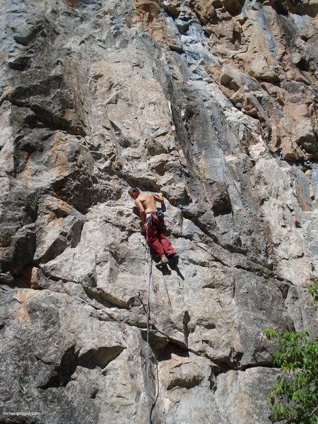 Climber at C3.