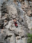 Rock Climbing Photo: Climber at C3.