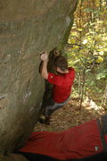 Rock Climbing Photo: These holds hurt so bad!