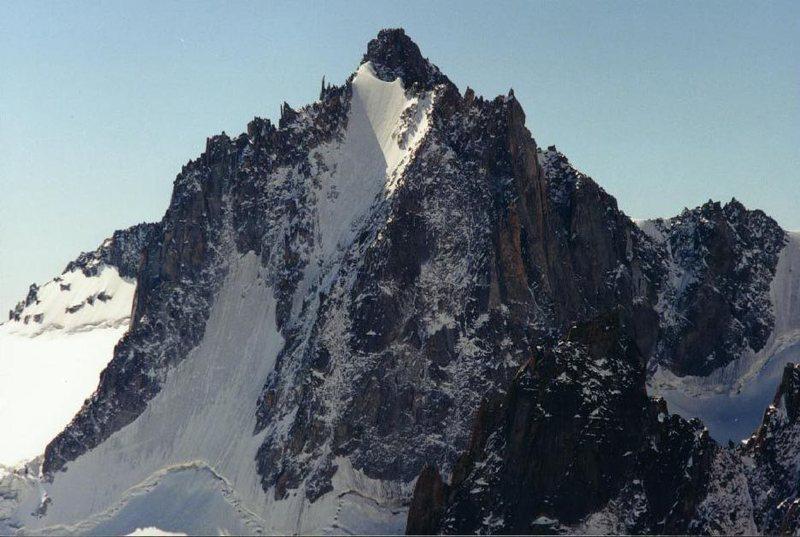 Rock Climbing Photo: Tour Ronde, North Face