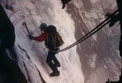 Rock Climbing Photo: Great White Icicle