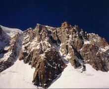 Rock Climbing Photo: Albinoni Gabbarou Route, Mont Blanc du Tacul