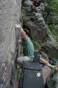 Rock Climbing Photo: The Gill Classic at Devils Lake State park