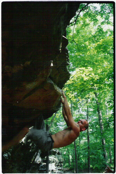 Rock Climbing Photo: This is in Giant city state park in So Ill